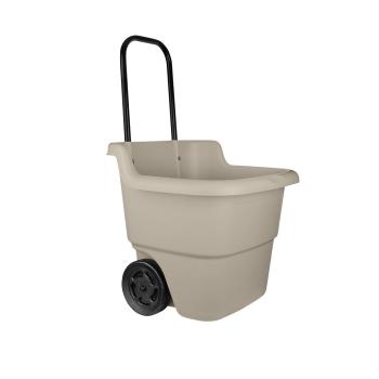 Suncast Multi-Purpose Lawn Cart - Light Taupe