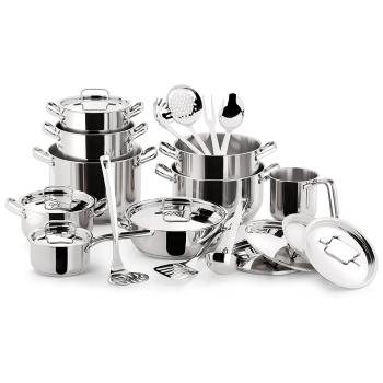 Lagostina® Sfiziosa 24-Piece Stainless Steel Cookware Set