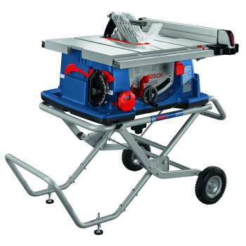 Bosch 10'' Worksite Table Saw with Gravity-Rise Wheeled Stand