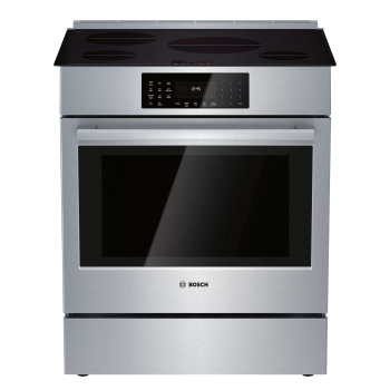 Bosch 800 Series 30'' Induction Slide-in Range - Stainless Steel