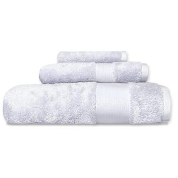 Cuddle Down Alexandria 100% Egyptian Cotton Towel - Light Grey - Set of 3