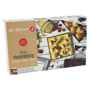 De Buyer Home Baking Cake And Tart Box