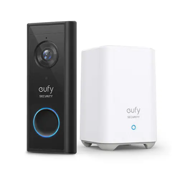 Eufy Smart Video Doorbell 2K Battery or Wired with HomeBase
