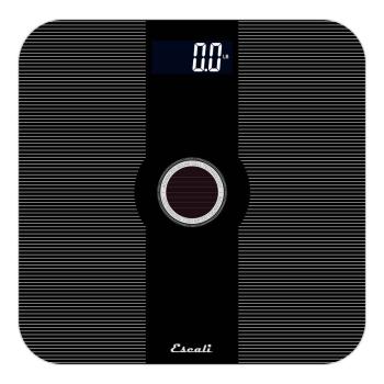 Escali Solar USB Charging Bathroom Scale