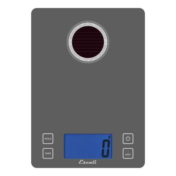 Escali Stela Solar USB Charging Kitchen Scale