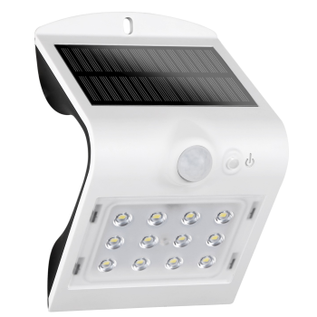 Genesis Eclipse Outdoor Solar Motion Sensor Light - White - Set of 4