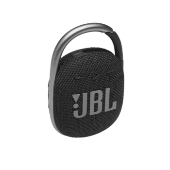 JBL CLIP 4 Ultra-Portable Waterproof Speaker - Black