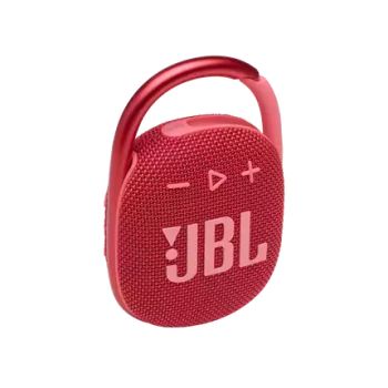 JBL CLIP 4 Ultra-Portable Waterproof Speaker - Red
