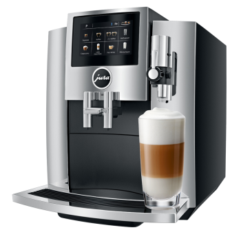 Jura® S8 Super Fully Automatic Espresso Coffee Machine - Chrome