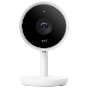 Nest Cam IQ Wi-Fi Indoor IP Camera - White