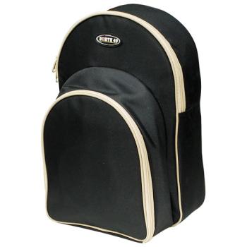 North 49 2-Person Picnic Back Pack Cooler - Black/Tan