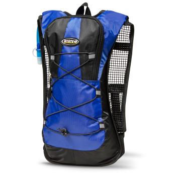 North 49 Velo Hydration Backpack with 2L Bladder - Blue/Black