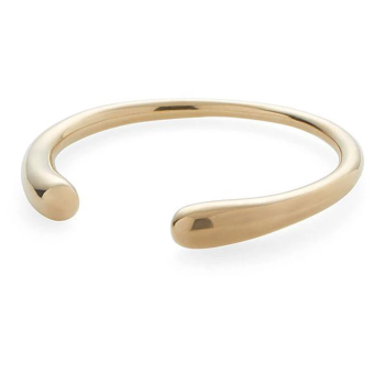 Soko Delicate Dash Cuff Bracelet - Gold Plated