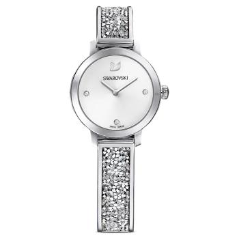Swarovski Cosmic Rock Metal Bracelet White/Stainless Steel Watch
