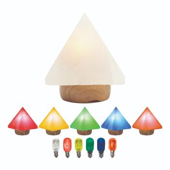 T-Zone Health™ Himalyan Salt Pyramid Mood Lamp