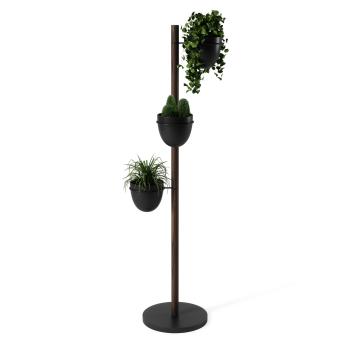 Umbra® Floristand Planter - Black/Walnut