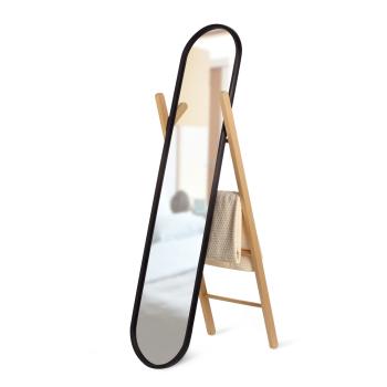 Umbra® Hub Floor Mirror - Black/Natural