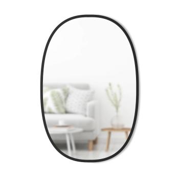 Umbra® Hub Oval Mirror - 24'' x 36'' - Black