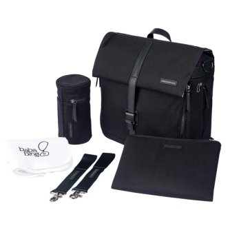 Bababing Daytripper Meta Changing Bag - Black