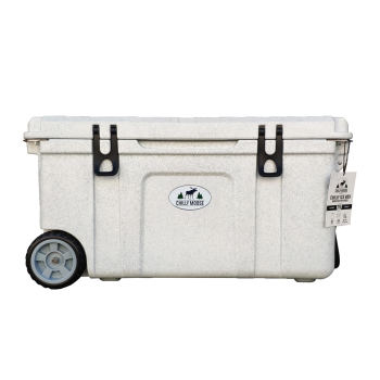 Chilly Moose 75L Chilly Ice Box Wheeled Explorer Cooler - Limestone