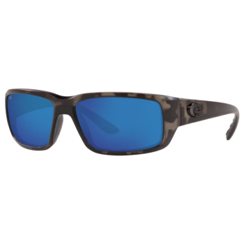 Costa® Ocearch® Fantail Men's Sunglasses - Tiger Shark Ocearch/Blue Mirror