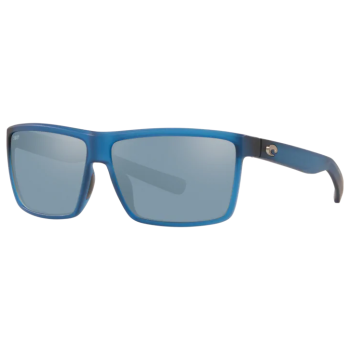 Costa® Rinconcito Mens Sunglasses - Matte Atlantic Blue/Grey Silver Mirror