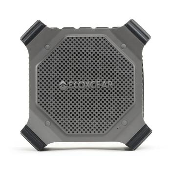 Ecoxgear EcoDrift Waterproof Rugged Wireless Bluetooth Speaker - Grey