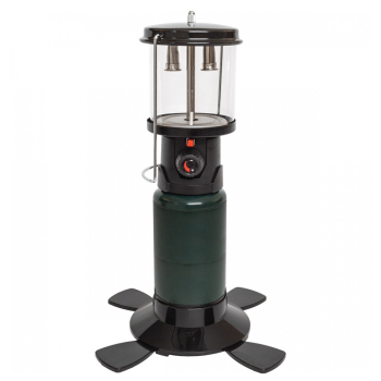 Kuma Propane Lantern with Piezo Start - Black