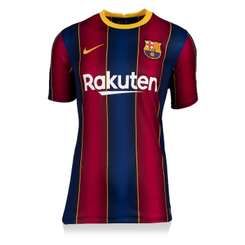 Lionel Messi Authentic Signed Nike 2021-21 Barcelona Jersey