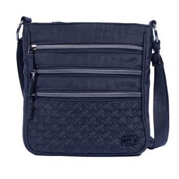 Lug® Breezer Crossbody Bag - Brushed Black