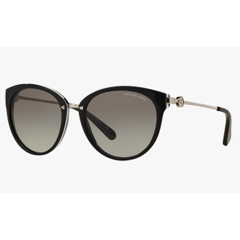Michael Kors Ladies Abela III Sunglasses - Black/Grey