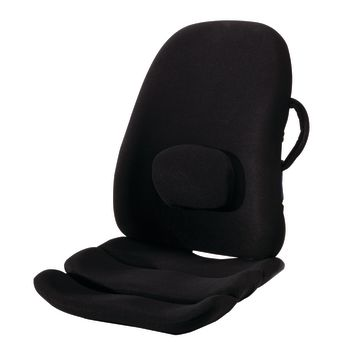 ObusForme® LowBack Backrest Support and Contoured Seat Cushion Combo