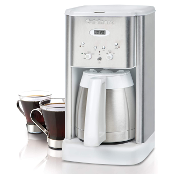 Cuisinart® Brew Central Thermal 10-Cup Programmable Coffeemaker - White