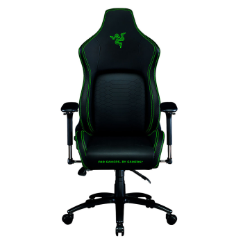 Razer™ Iskur Gaming Chair with Built-In Lumbar Support - Black/Green
