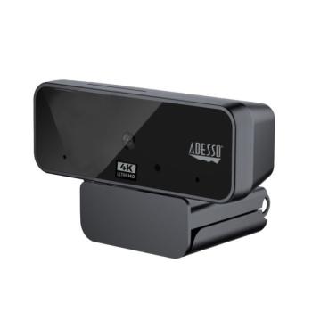 Adesso® CyberTrack H6 4K Ultra HD USB Webcam