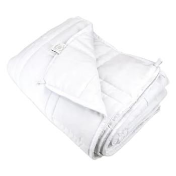 Cheryl's Home & Family The Huggler Weighted Blanket - White - 8lbs