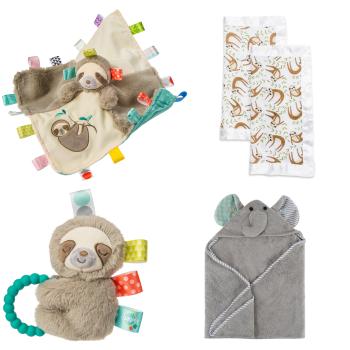 Mary Meyers, Lulujo and Zoocchini™ Baby Gift Set