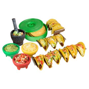 Nostalgia® Taco Tuesday 9-Piece Taco Kit