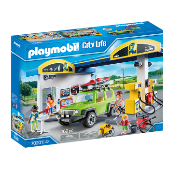 Playmobil City Life Gas Station