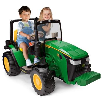 Peg Perego John Deere Dual Force Tractor Ride-On