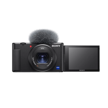 SONY® ZV-1 Digital Camera for Content Creators and Vloggers – Black