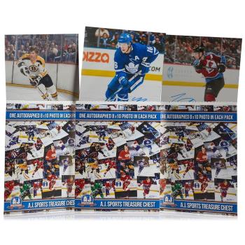 AJ Sports 8 x 10 Photo Hockey Treasure Chest