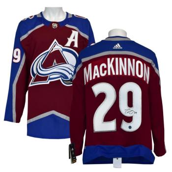 AJ Sports Nathan Mackinnon Colorado Avalanche Autographed Adidas Jersey