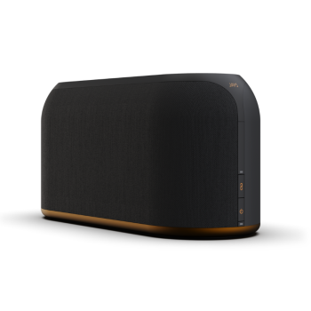 JAYS s-Living Three MultiRoom Wi-Fi Speaker – Black