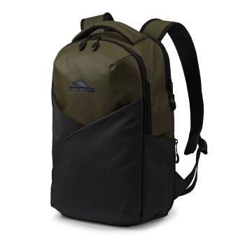 High Sierra Luna Backpack – Olive/Black