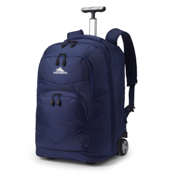 High Sierra Freewheel Pro Wheeled Backpack – True Navy