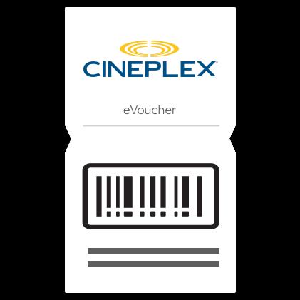 $10 Cineplex E - Gift Card