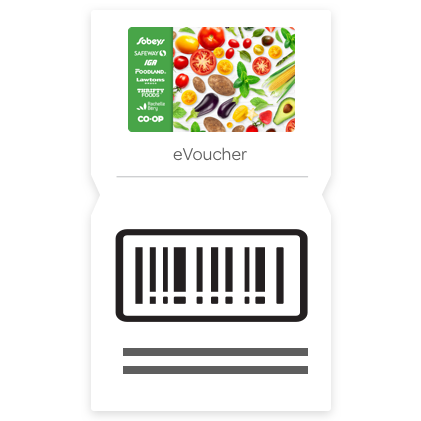 $10 Grocery Gift Card