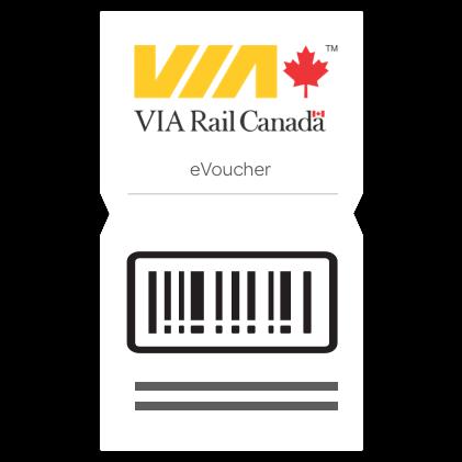 $20 VIA Rail Canada eVoucher