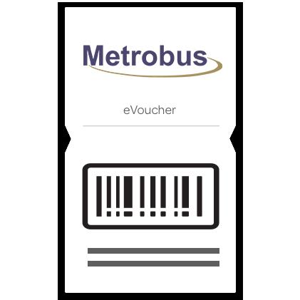$10 Metrobus eVoucher